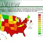 Map: Flu Rampant Throughout U.s. | Pbs Newshour For Washington State Flu Map