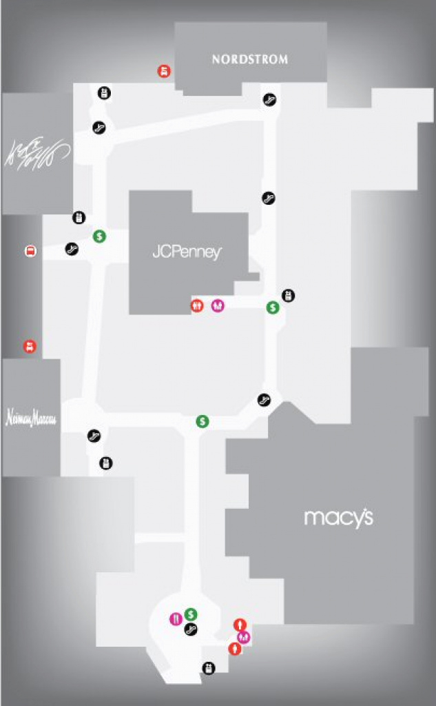 Map For Westfield Garden State Plaza Shopping Centre Map, Paramus with Garden State Plaza Store Map