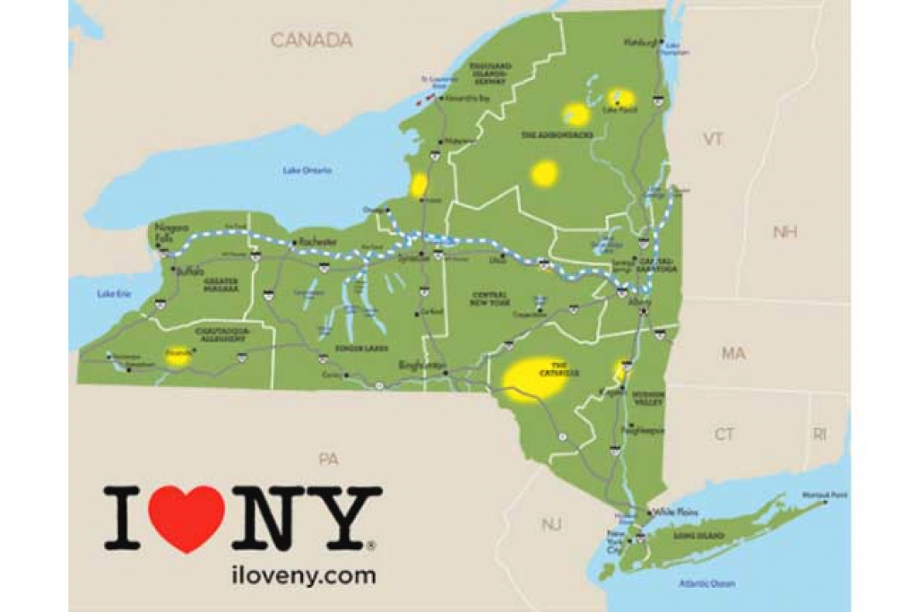 Map: Here's Where The Fall Leaves Are Changing In New York State within New York State Foliage Map