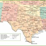 Map New Mexico And Texas With Regard To Texas Map State Cities