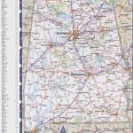 Map Of Alabama With Cities And Towns Within Alabama State Map With Counties