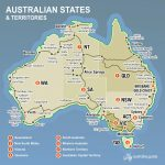 Map Of Australia | Australia's Guide Regarding Australian States And Territories Map