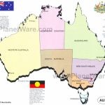 Map Of Australia   States And Territories | Planetware Throughout Australian States And Territories Map