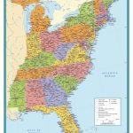 Map Of East Coast Of United States Fresh Map Eastern Us Pics Eastern Inside East Coast States Map