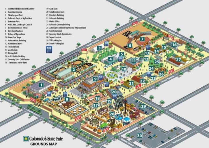 State Fairgrounds Map