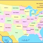 Map Of Fifty States Best Photos United 50 And Capitals – Supramatic With Regard To Us Map All 50 States