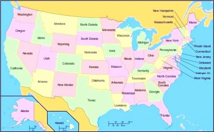 Us Map All 50 States