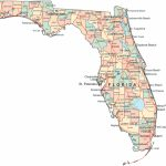 Map Of Florida | Fl Cities And Highways Regarding Florida State County Map With Cities