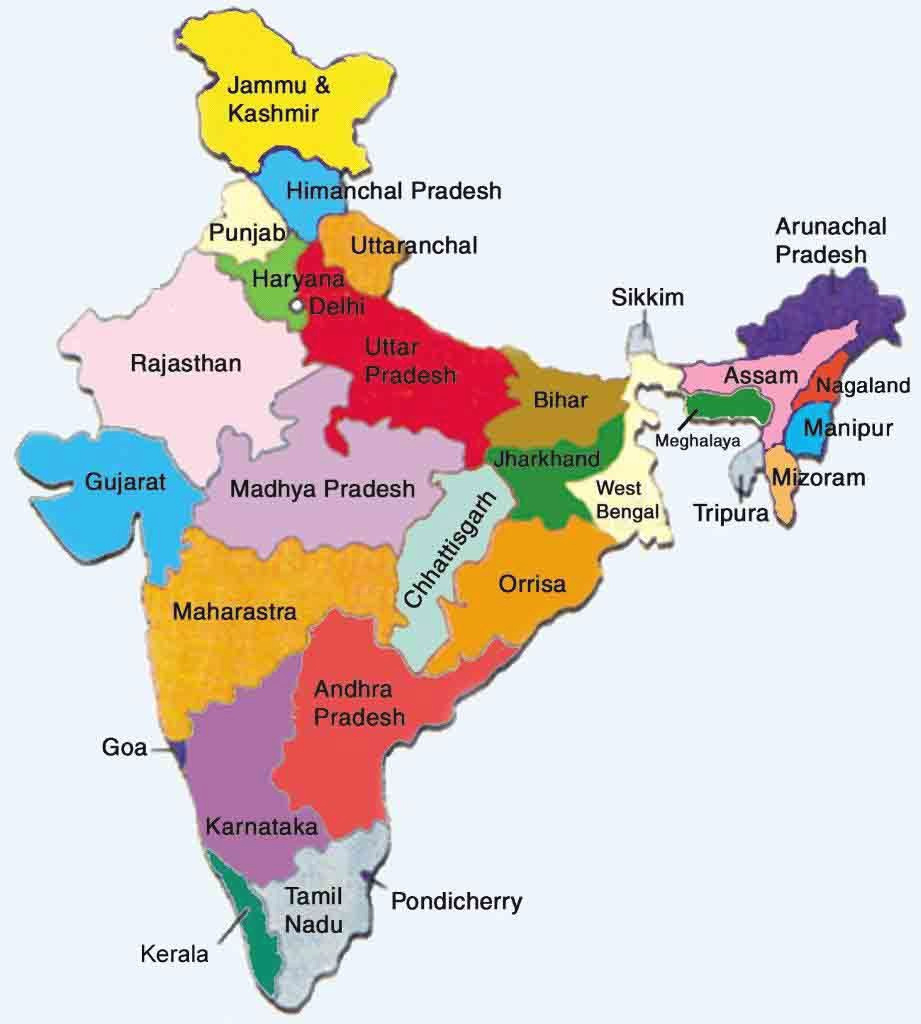 Map Of India - Google Search | India In 2018 | Pinterest | India within Google Map Of India With States