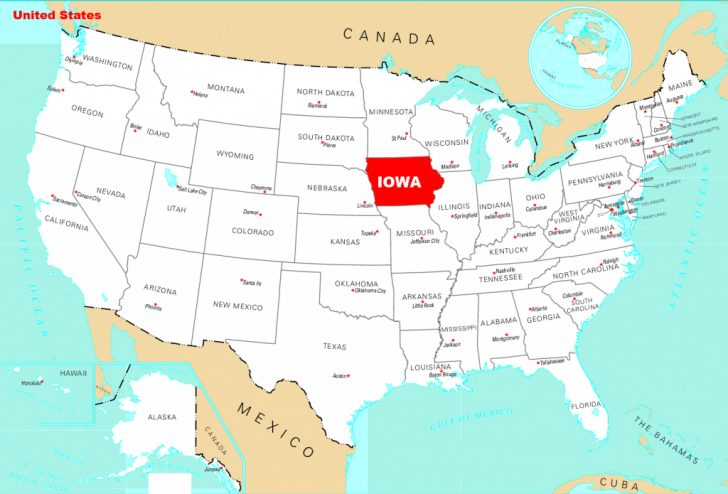 Map Of The Whole United States