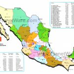 Map Of Mexico  Mexican States | Planetware Pertaining To Map Of Mexico And Its States