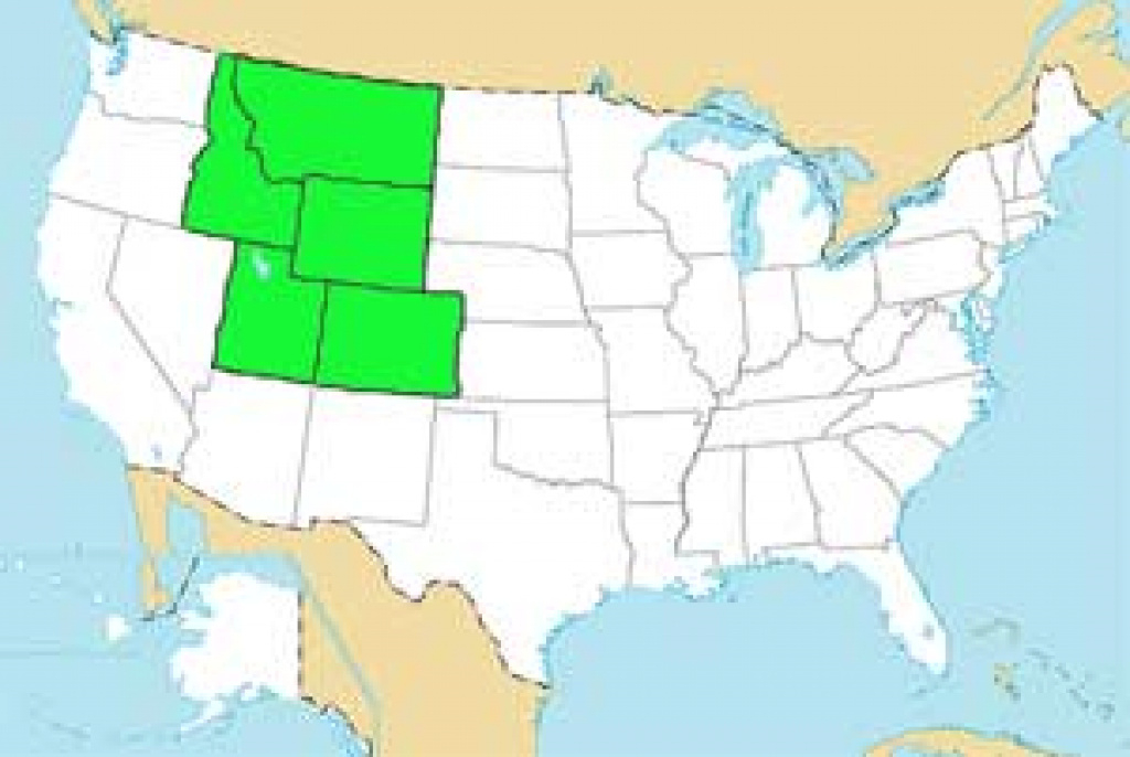 Map Of Mountain States And Travel Information | Download Free Map Of inside Us Map Rocky Mountain States