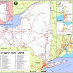 Map Of New York State Railroads Pertaining To New York State Highway Map