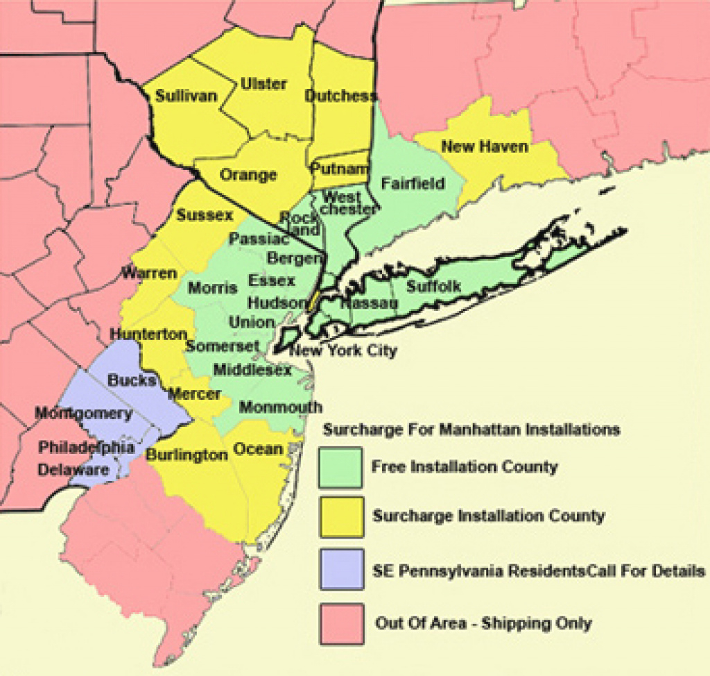 Map Of New York Tri State Area – Bnhspine regarding Tri State Map Ny Nj Pa
