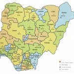 Map Of Nigeria Showing 36 States And Capital   Google Search | Maps Throughout Map Of Nigeria With States