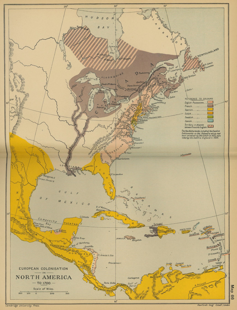Map Of North America 1700 with regard to 1700 Map Of The United States