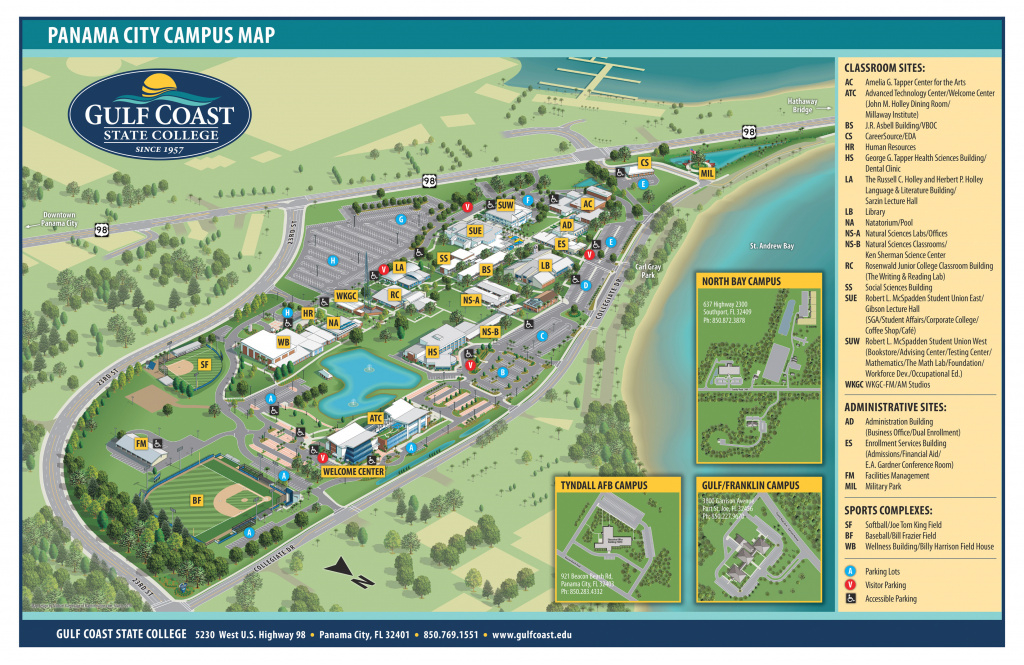Map Of Northern Florida Gulf Coast Best Of Gulf Coast State College with regard to Florida State Colleges Map