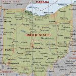 Map Of Ohio State (Usa) With Ohio State Map Images