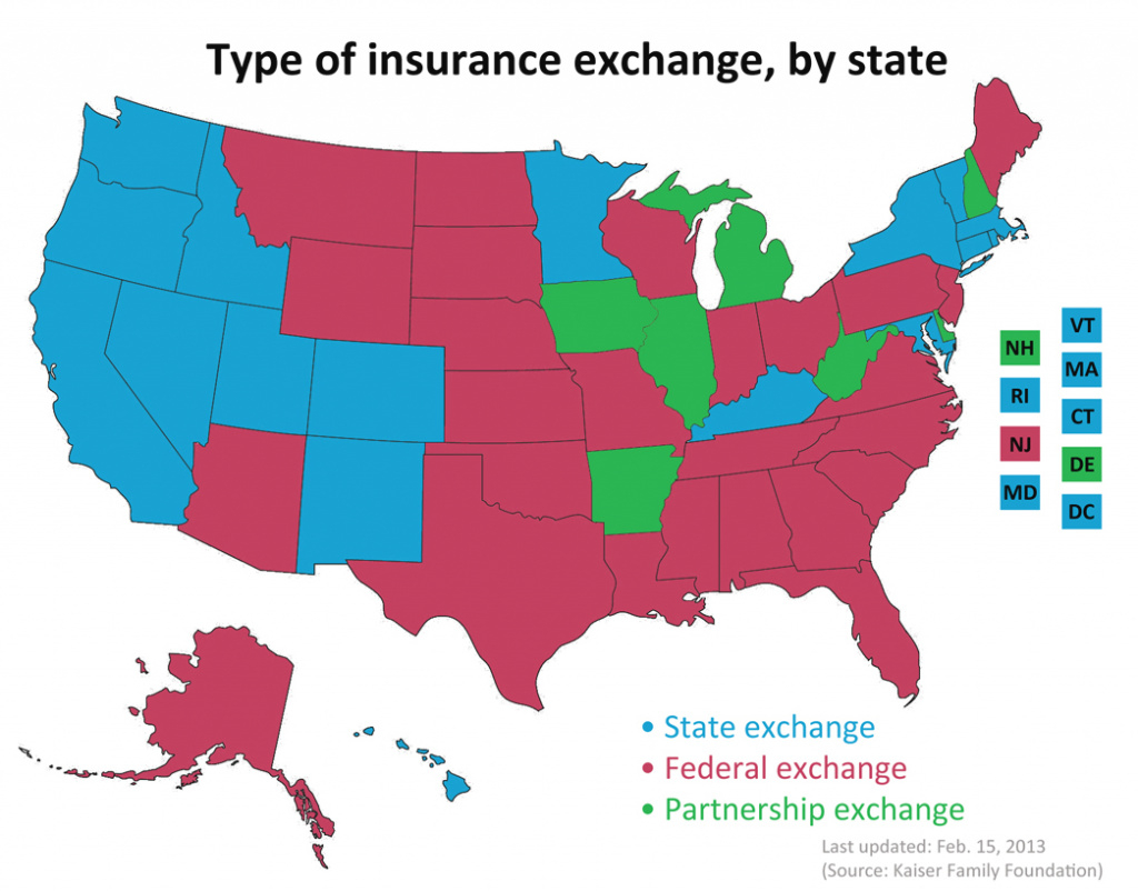 Map Of State Exchanges Final - Millennium Medical Solutions Inc. for States With Exchanges Map