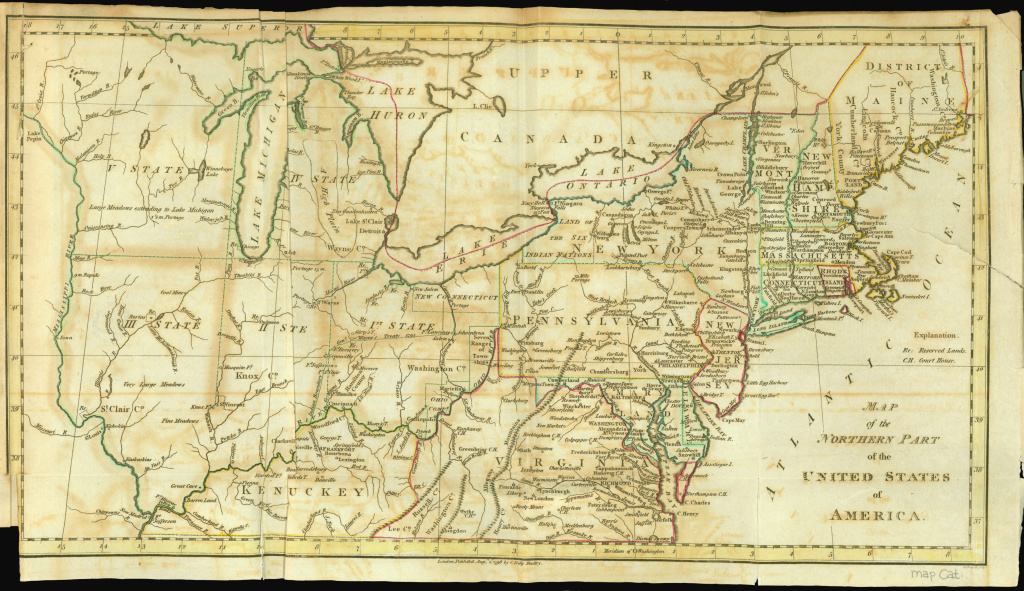 Map Of The Northern Parts Of The United States Of America: Digital with regard to Map Of Northern United States