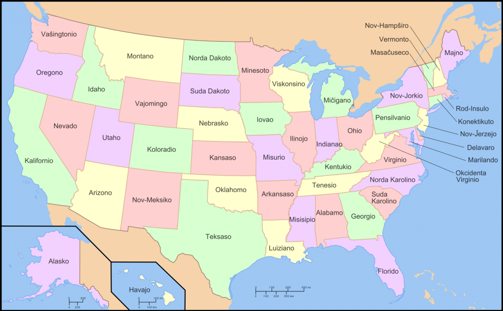 Map Of The United States In Esperanto – Brilliant Maps in Show Me A Picture Of The United States Map
