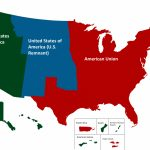 Map Of The Us In The Civil War Map Of Border States In American Inside Civil War Border States Map