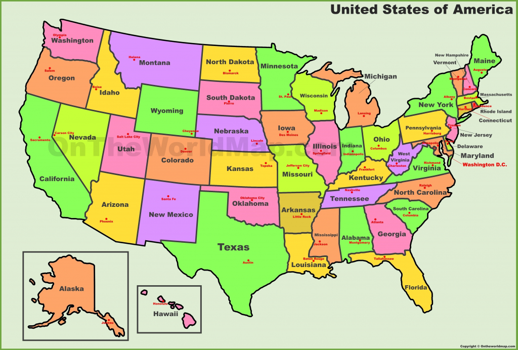 Map Of The Us States Labeled Usa Labeled New United States Map with regard to Map Of The United States Of America With States Labeled