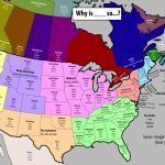 "Map Of Top 3 Autocomplete Searches For ""why Is     So"" In Each Regarding What States Have I Been To Map"