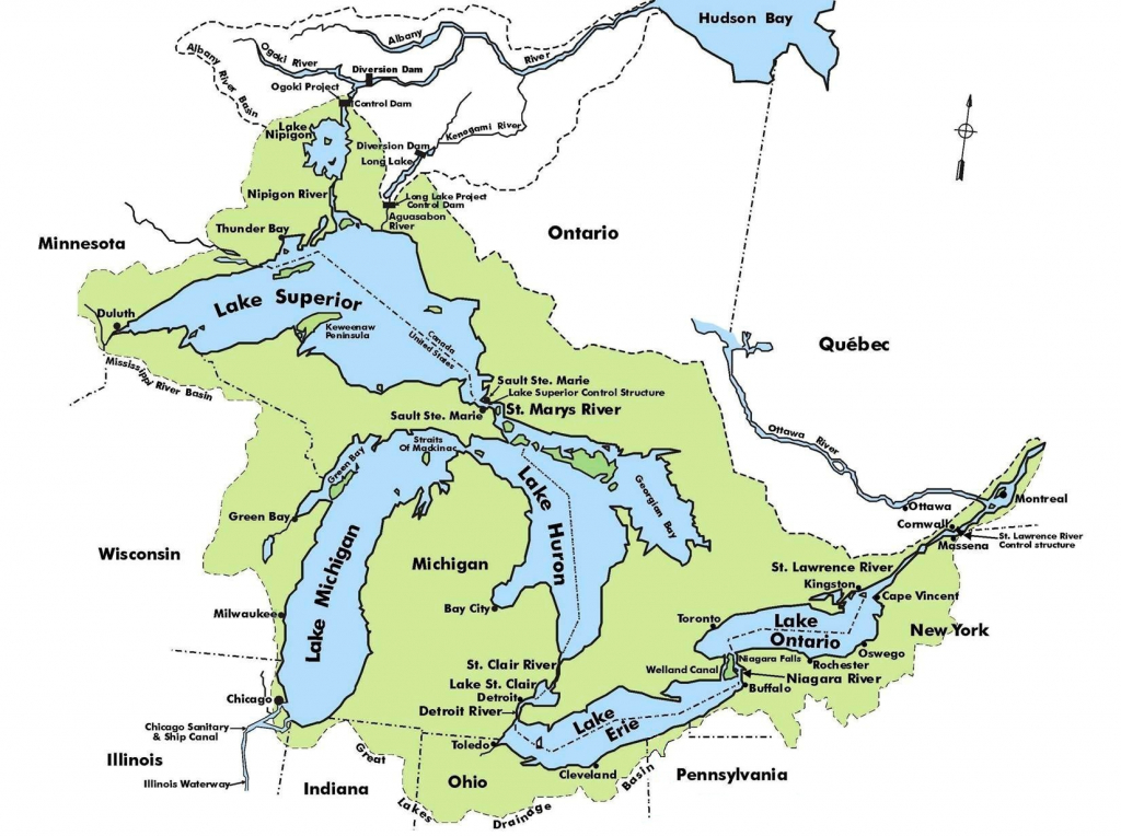 Map Of United States Rivers And Lakes New Us Map Rivers And inside United States Map With Rivers And Lakes And Mountains