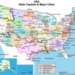 Map Of United States With Capitols And Travel Information   Download Regarding United States Of America Map With Capitals