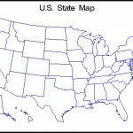 Map Of Us State Borders   Listed Map Within Us Map With State Borders