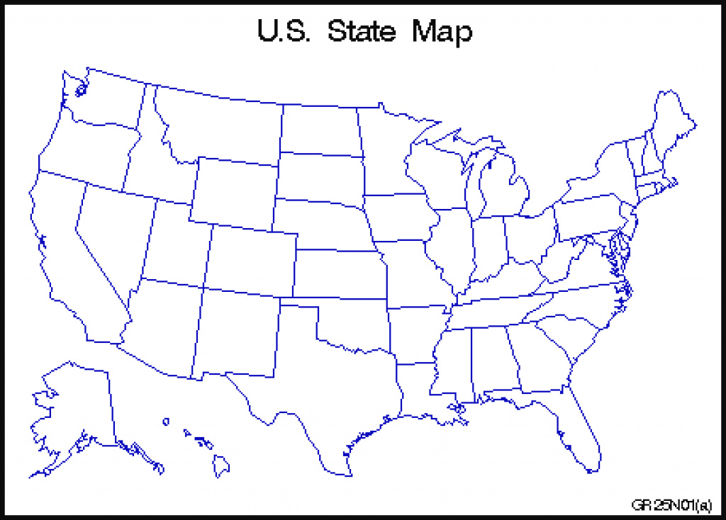 Map Of Us State Borders | Listed Map within Us Map With State Borders