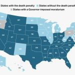 Map Of Us States That Still Have The Death Penalty Now That Wa Doesn Inside Death Penalty States Map
