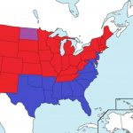 Map Of Usa States Governorsparty Affiliation From 1775 To 2017 Inside State Political Map