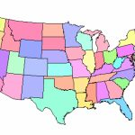 Map Of Usa States Without Names And Travel Information | Download Throughout Us Map Without State Names