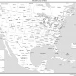 Map Of Usa With Cities Pdf States Printable Maps The United Inside Usa Map With States And Cities Pdf