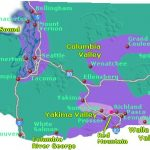 Map Of Winery Regions In Washington State   Go Northwest! A Travel Guide Throughout Washington State Wineries Map
