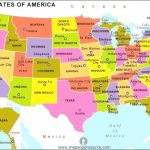 Map Of With Capitals And Major Cities Us States 50 Maps Throughout Map Of 50 States And Major Cities