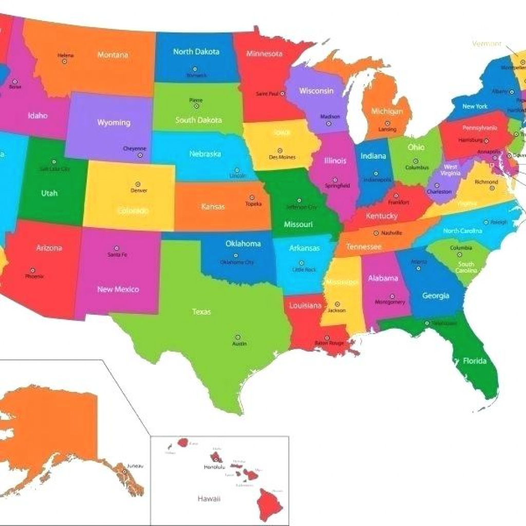 Map Quiz States And Capitals Us Game Maps 101 – Naturerenew pertaining to Usa Map With States Capitals And Abbreviations