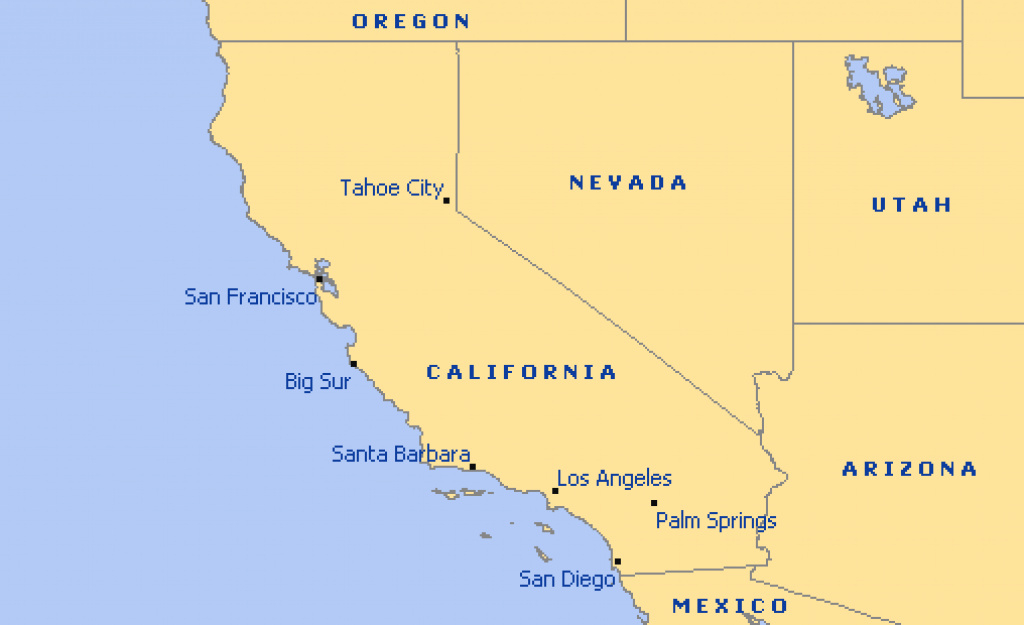 Map Reference. States In California Map - Reference California Map inside California Map With States