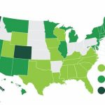 Map: States With Pro Marijuana Laws In States Where Weed Is Legal Map 2016