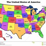 Map United States State Names Detailed Outline Showing Borders Great With Map Of Usa Showing States