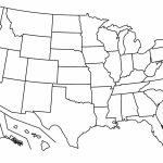 Map Us State Borders Printable Map.gif New Printable Us State Map For Blank Us State Map Quiz