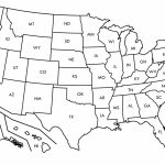 Map Us State Borders Printable New Printable Us Map With Capitals Us Regarding Us Map With State Borders
