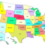 Map Usa States Free Printable   Marinatower Throughout Free Printable Map Of The United States