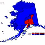 Mapping Alaska: The 2008 Vote – How Begich Won Geographically – Rrh Within Alaska State Senate District Map