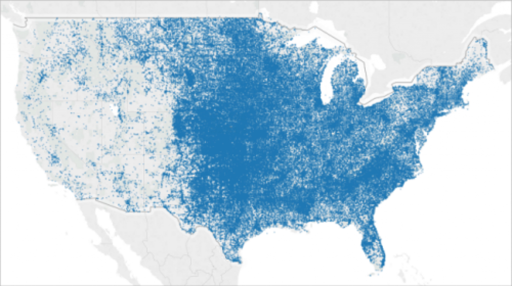 Mapping In Tableau inside Tableau Heat Map By State