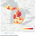 Mapping Opioids | For Maps State Of Michigan Prescription
