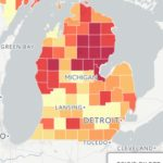 Mapping Opioids | Regarding Maps State Of Michigan Prescription
