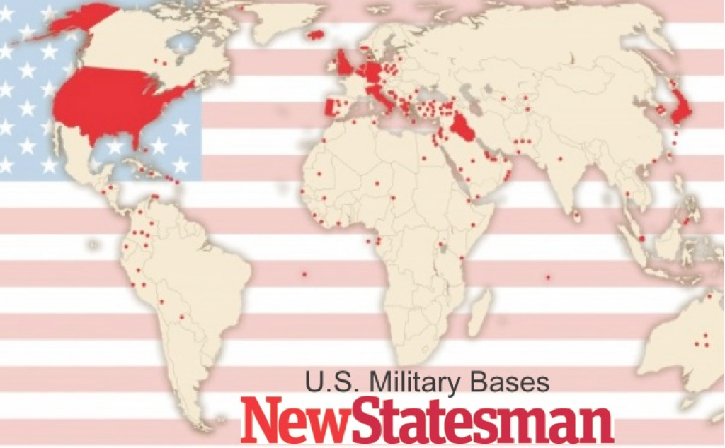 Mapping U.s. Foreign Military Bases | Geocurrents throughout United States Military Bases World Map